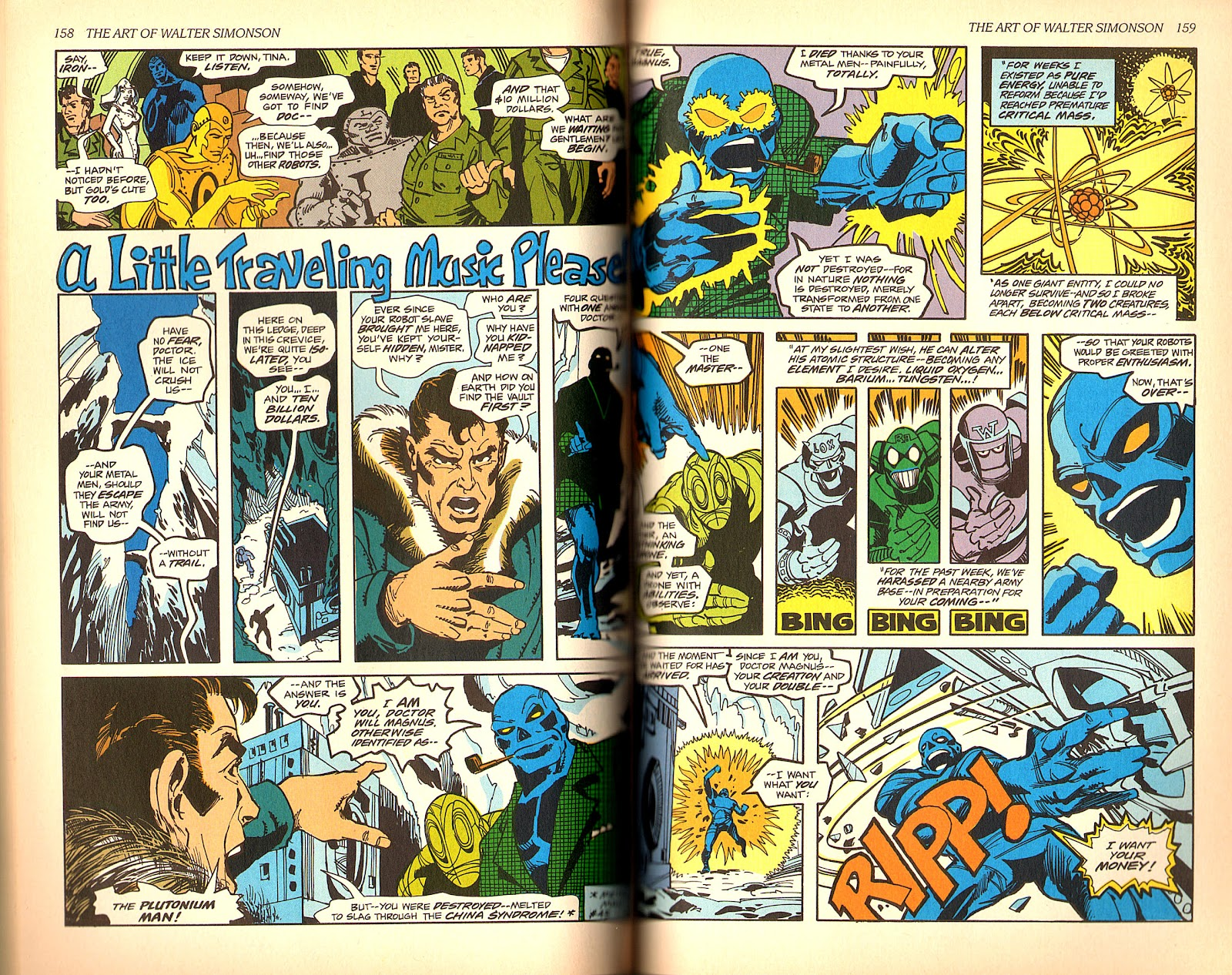 Read online The Art of Walter Simonson comic -  Issue # TPB - 81