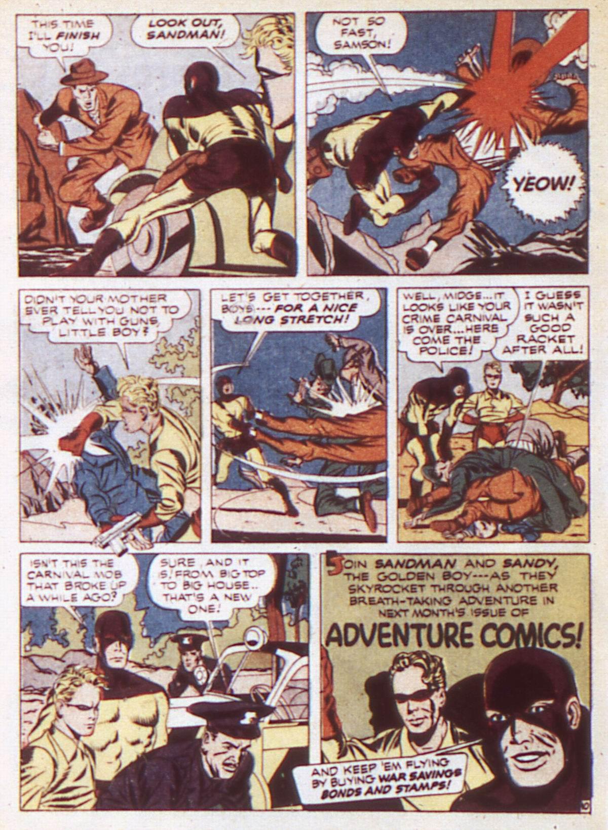 Read online Adventure Comics (1938) comic -  Issue #84 - 12