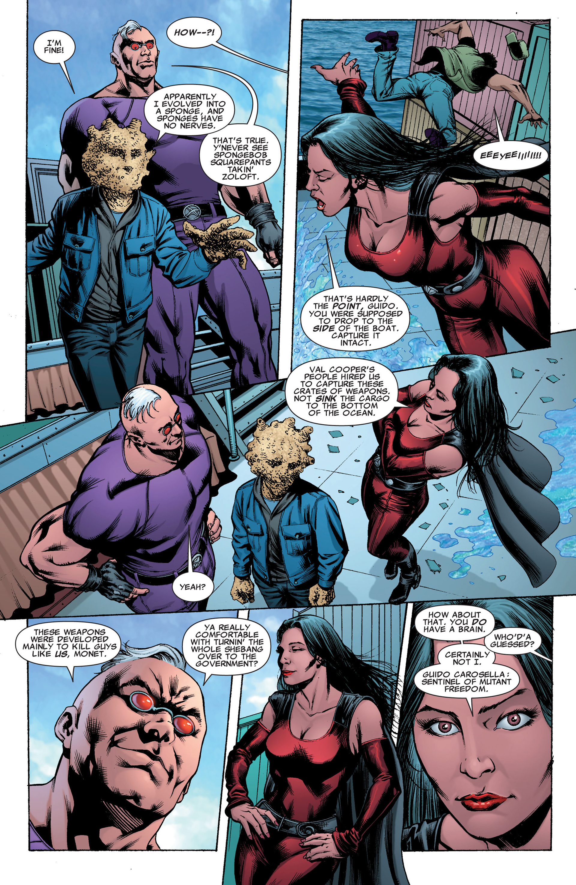 Read online X-Factor (2006) comic -  Issue #41 - 22