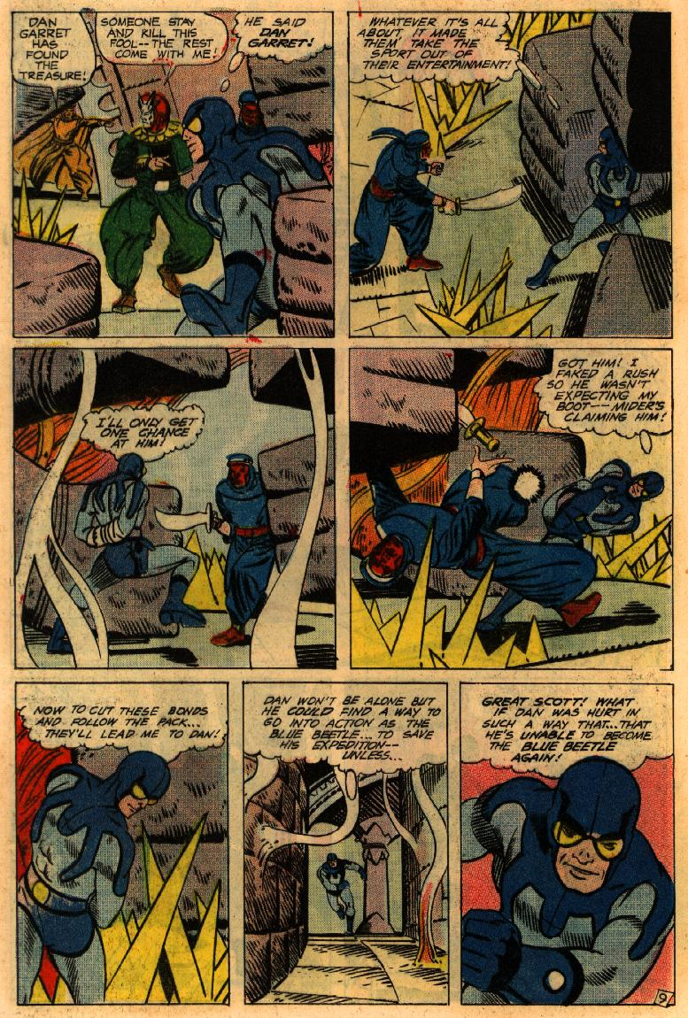 Blue Beetle (1967) issue 4 - Page 12