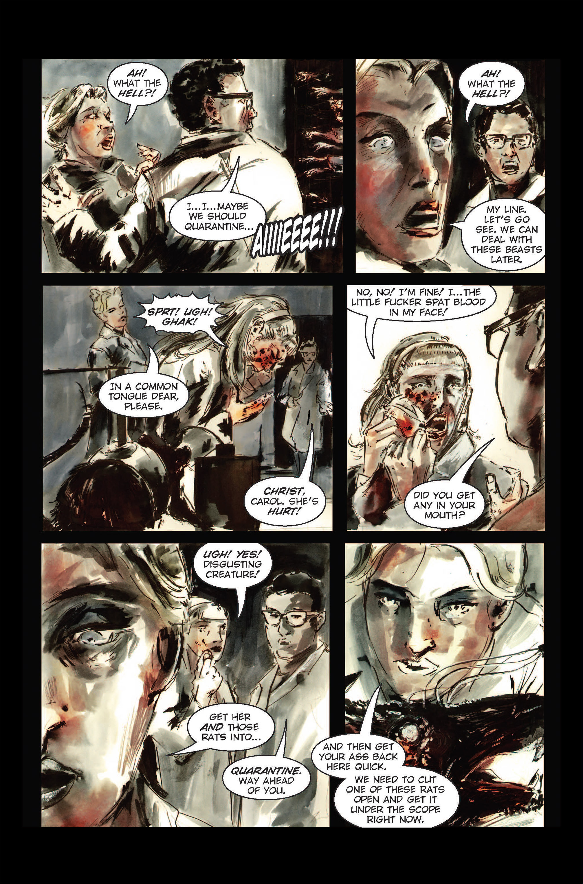 Read online The Final Plague comic -  Issue #1 - 14