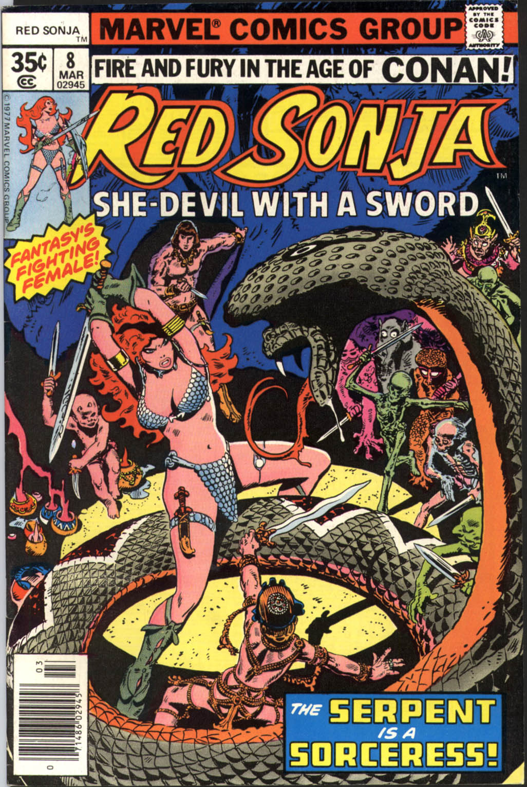 Red Sonja (1977) issue 8 - Page 1