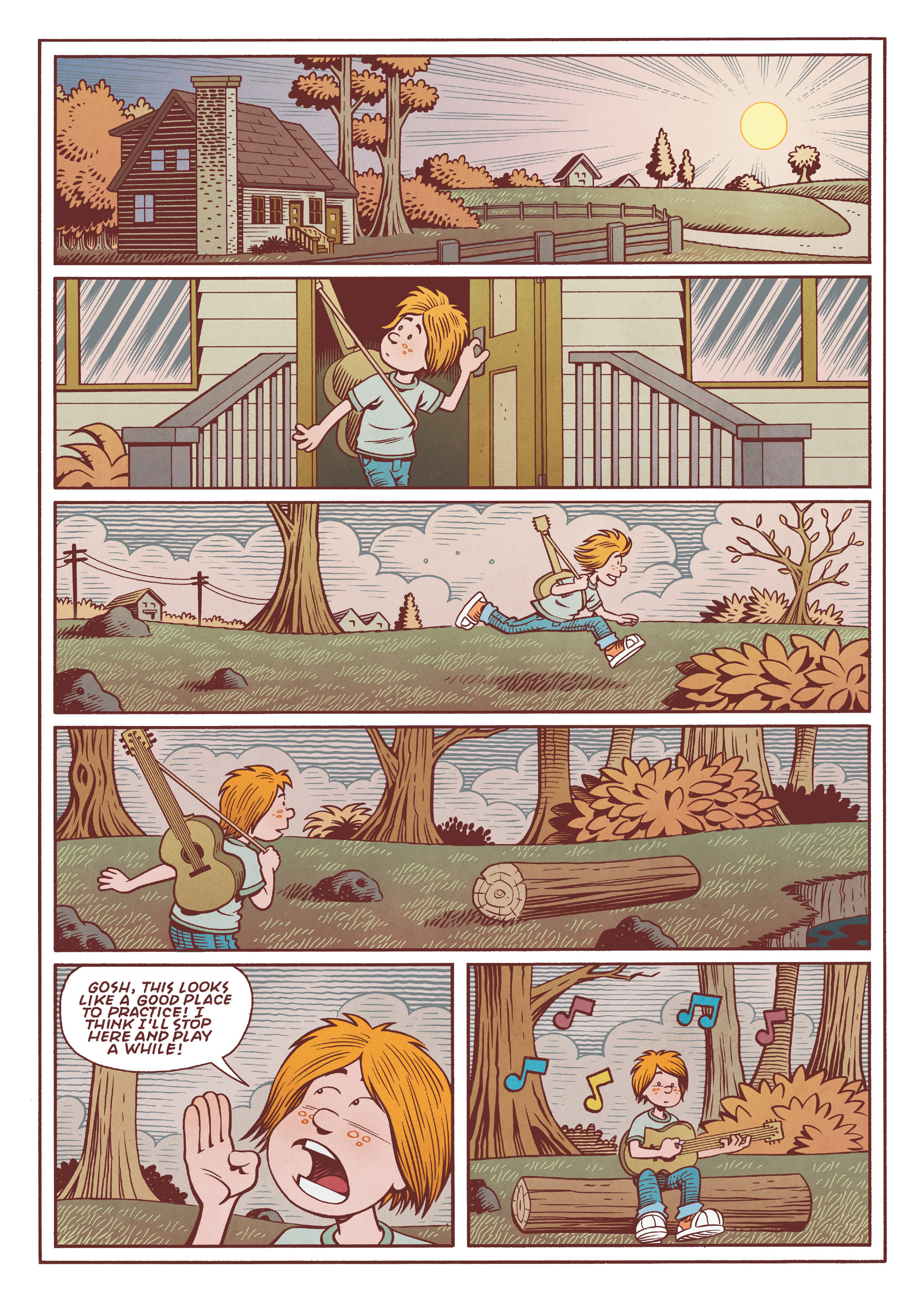 Read online Jim Henson's The Musical Monsters of Turkey Hollow comic -  Issue # Full - 33