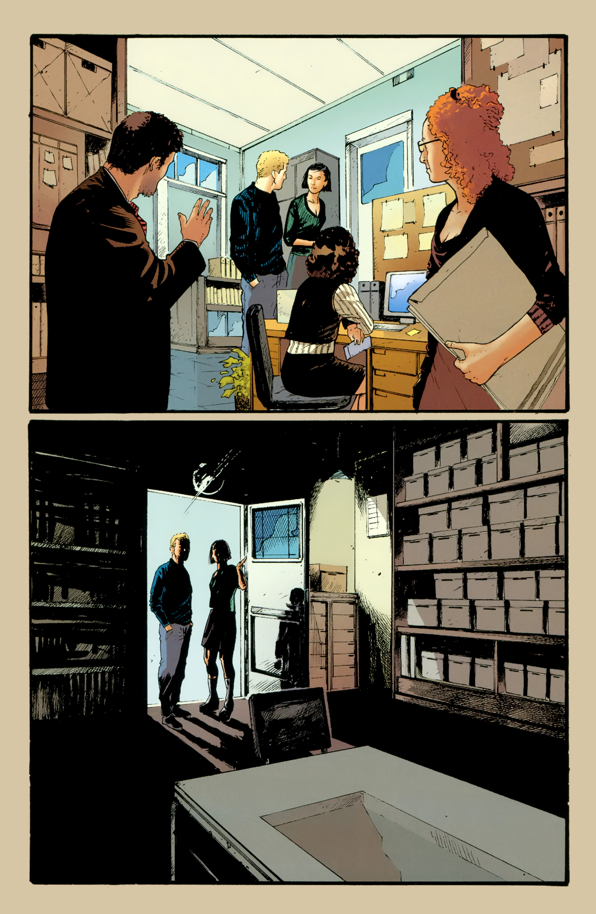 Read online The Girl With the Dragon Tattoo comic -  Issue # TPB 2 - 27