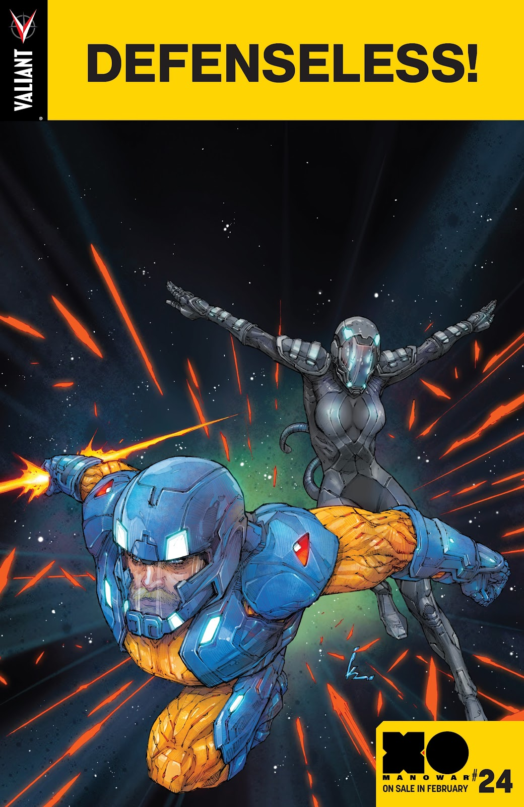 Read online X-O Manowar (2017) comic -  Issue #23 - 23