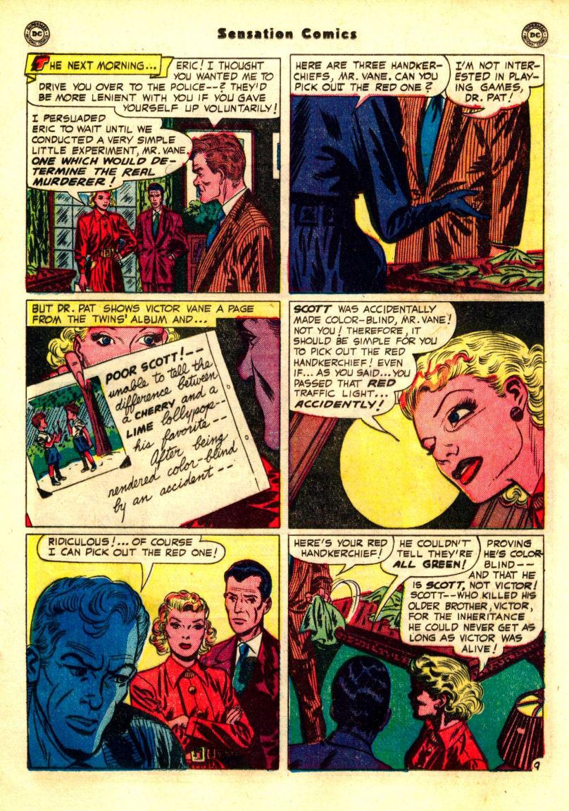 Read online Sensation (Mystery) Comics comic -  Issue #99 - 25