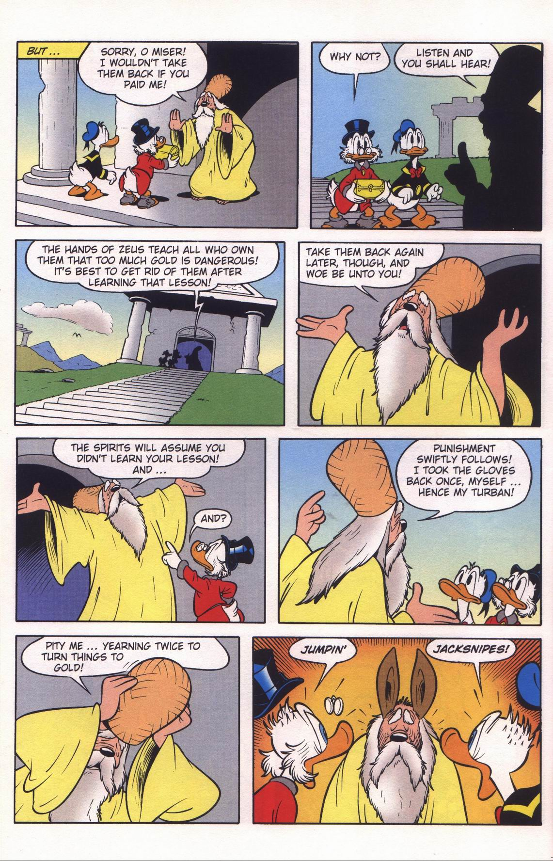 Read online Uncle Scrooge (1953) comic -  Issue #312 - 22