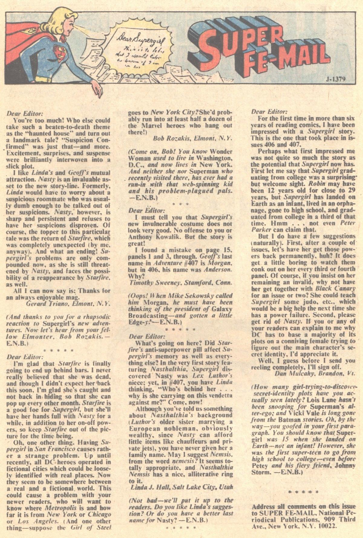 Read online Adventure Comics (1938) comic -  Issue #411 - 22
