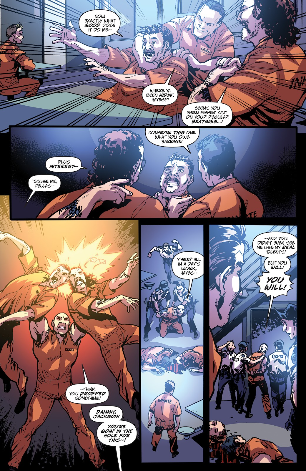 Read online Accell comic -  Issue #20 - 24