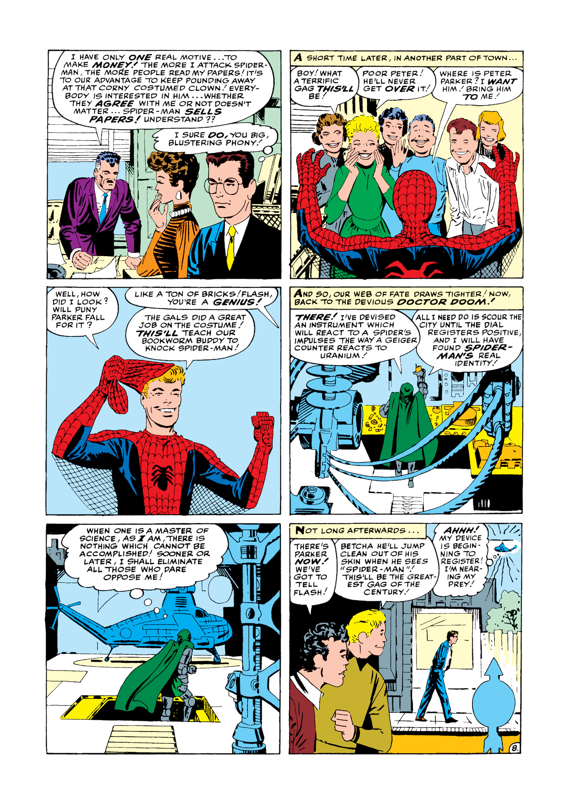 The Amazing Spider-Man (1963) 5 Page 8