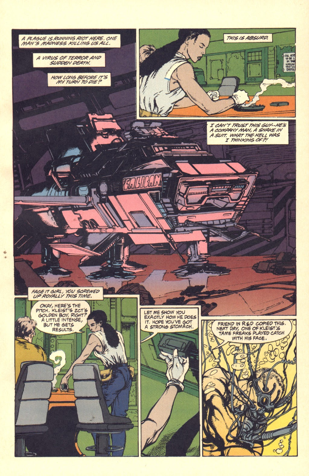 Read online Aliens: Rogue comic -  Issue #1 - 41