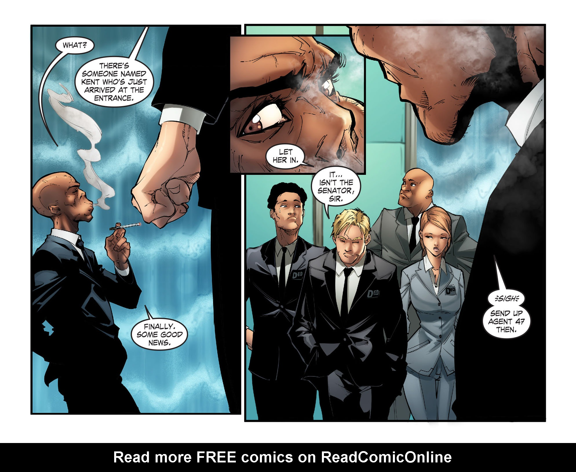 Read online Smallville: Season 11 comic -  Issue #57 - 18