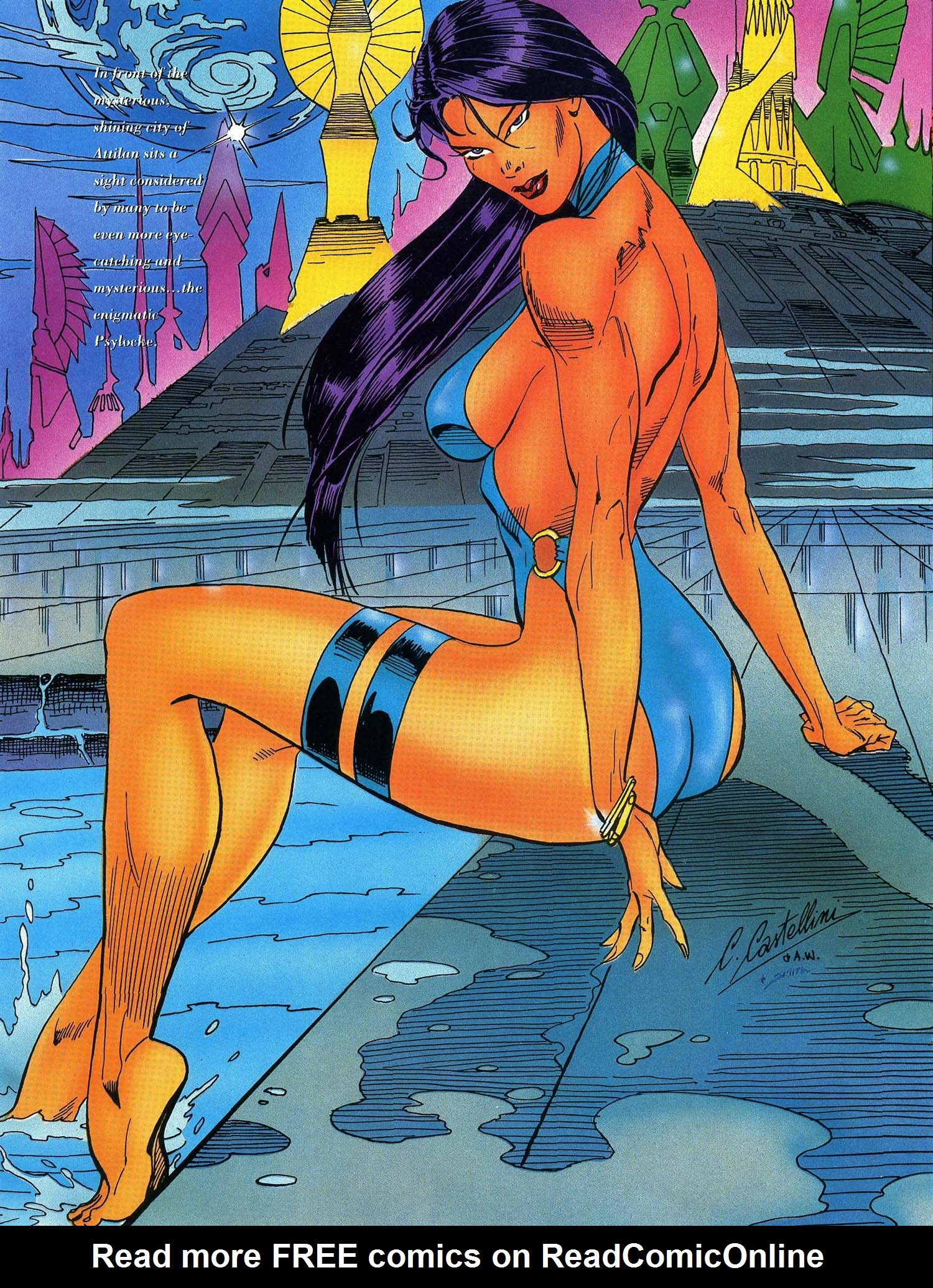 Read online Marvel Swimsuit Special comic -  Issue #3 - 39
