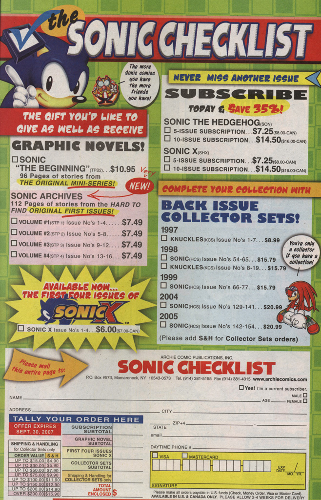 Read online Sonic X comic -  Issue #20 - 33