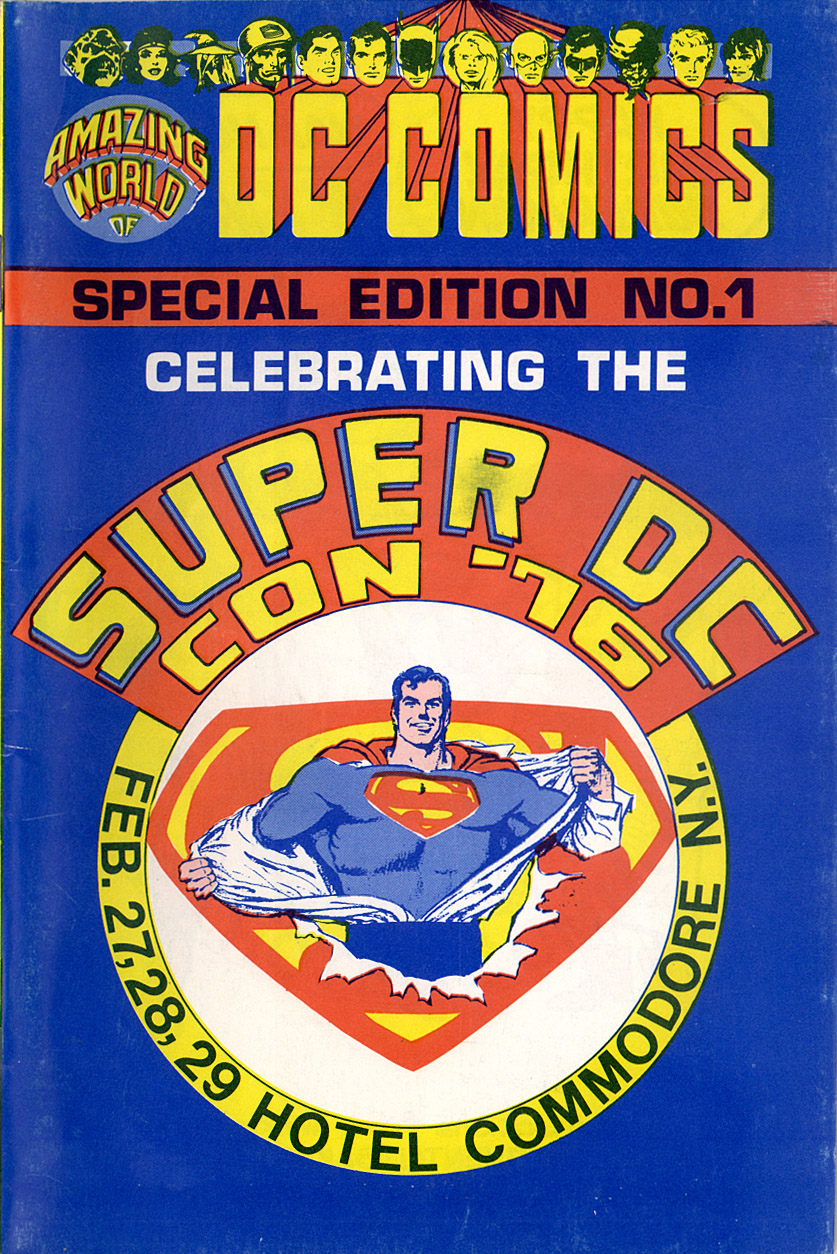 Read online Amazing World of DC Comics comic -  Issue # _Special - 2