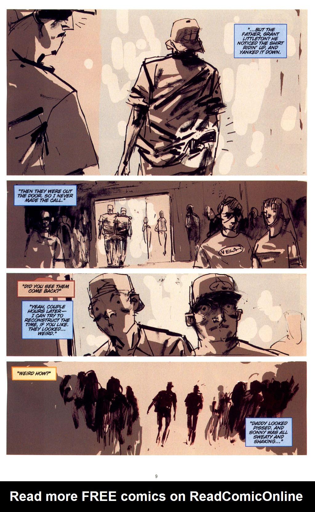 Read online CSI: Crime Scene Investigation: Bad Rap comic -  Issue #4 - 10