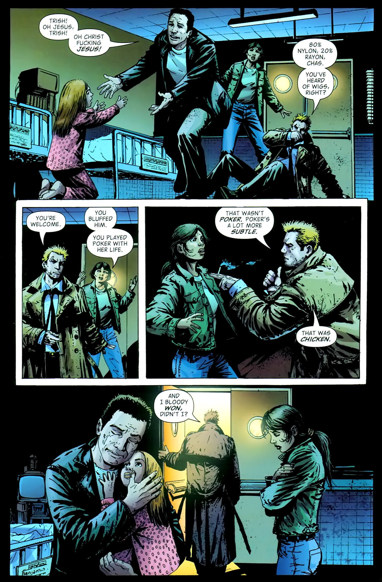 Read online John Constantine Hellblazer: All His Engines comic -  Issue # Full - 114