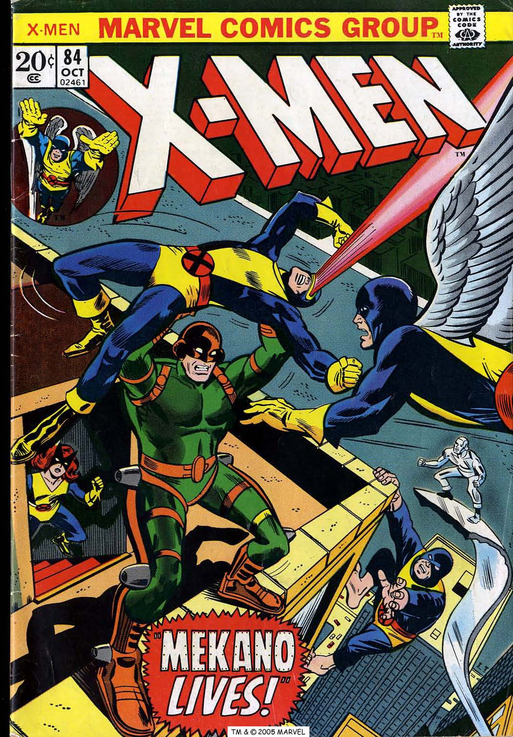 Read online Uncanny X-Men (1963) comic -  Issue #84 - 1