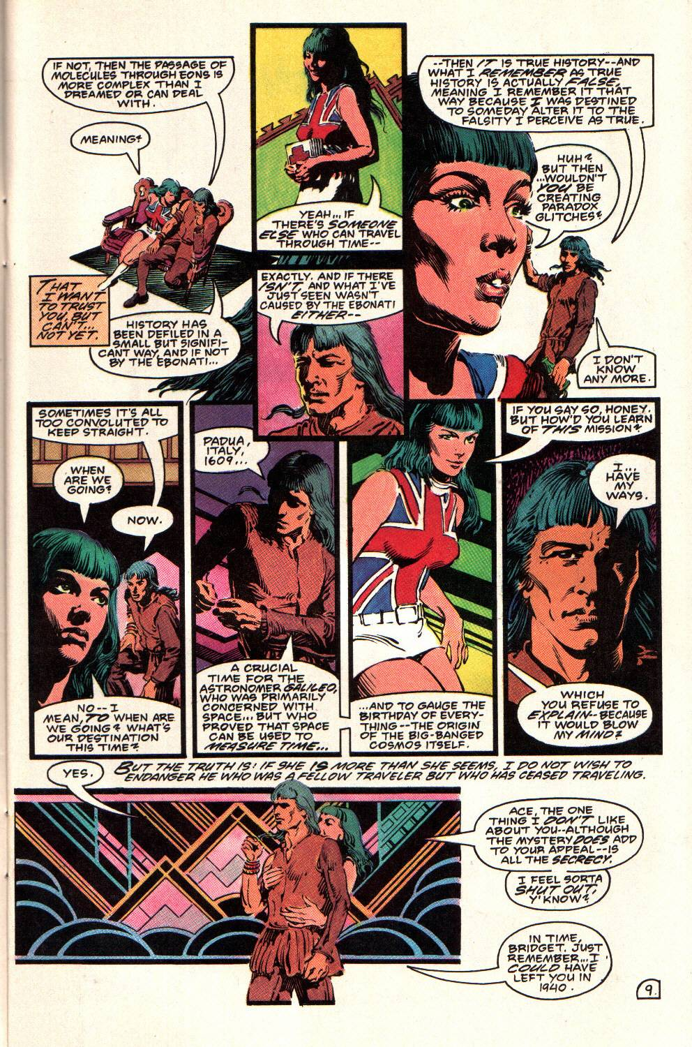 Read online Aztec Ace comic -  Issue #8 - 11