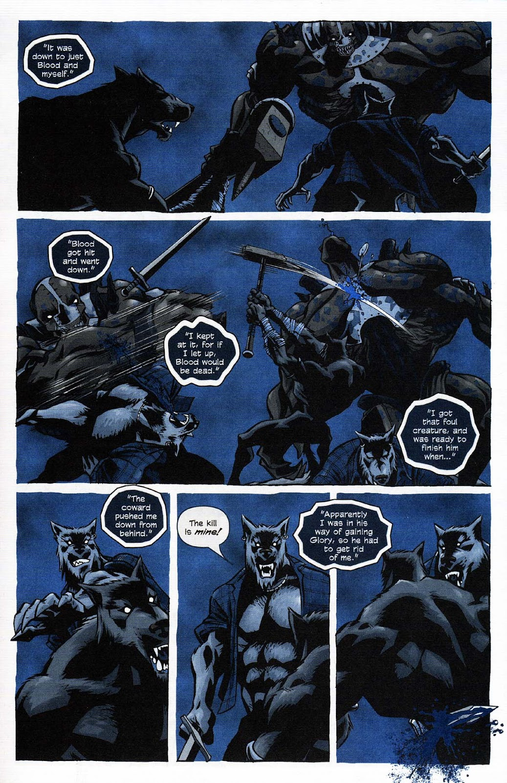 Read online Werewolf the Apocalypse comic -  Issue # Get of Fenris - 39
