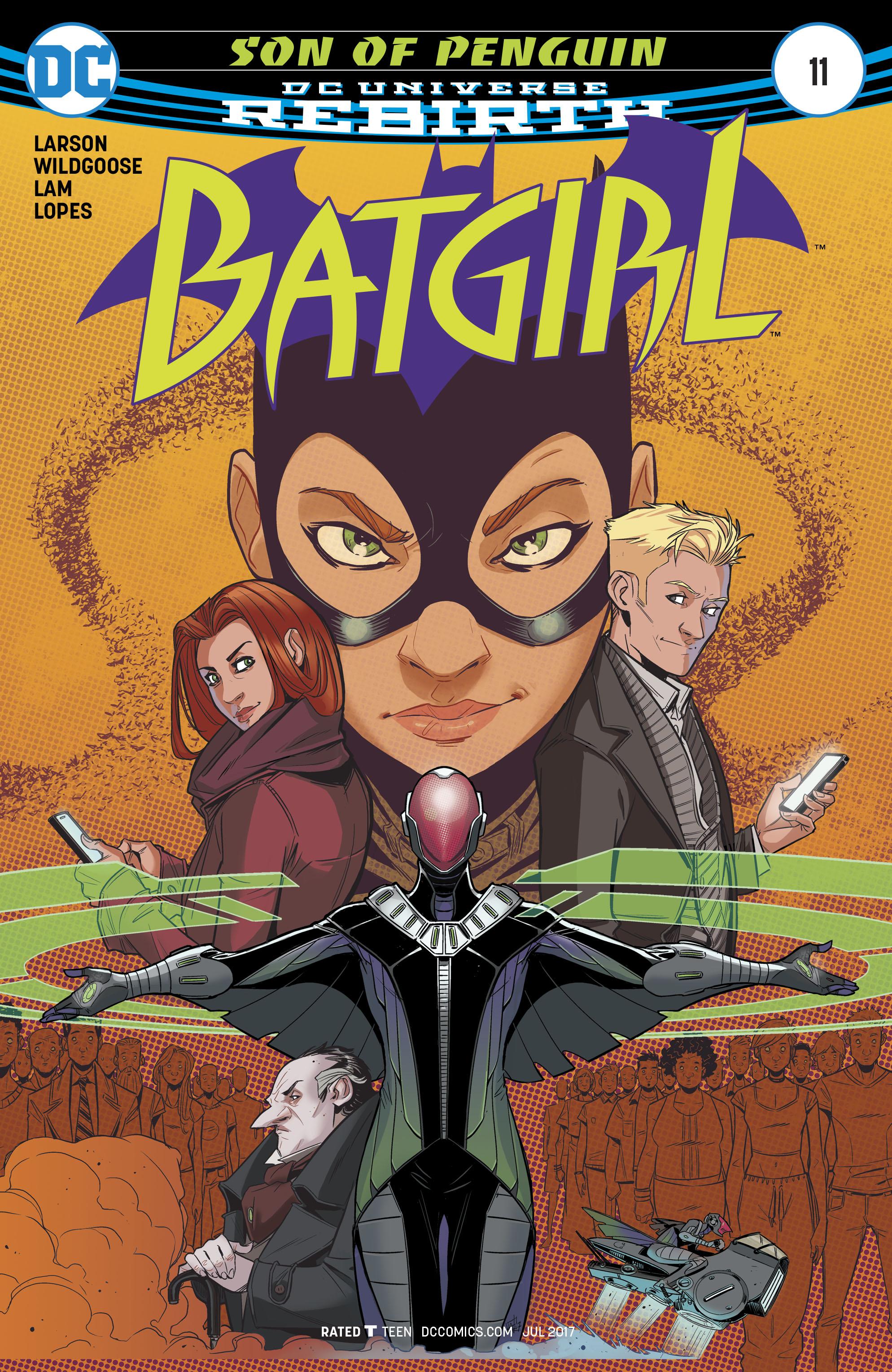 Read online Batgirl (2016) comic -  Issue #11 - 1