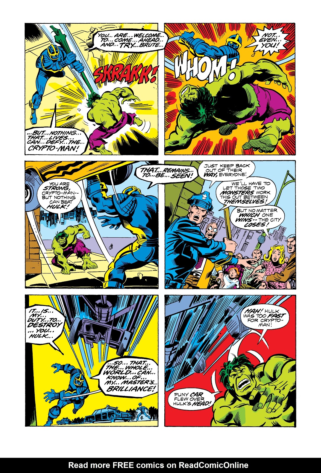 Read online Marvel Masterworks: The Incredible Hulk comic -  Issue # TPB 12 (Part 3) - 1
