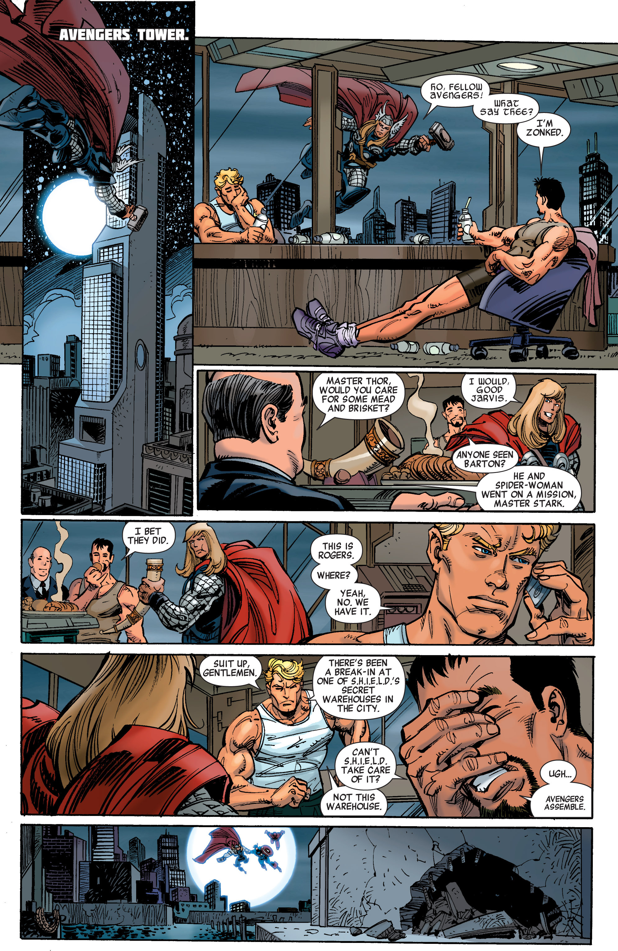 Read online Avengers (2010) comic -  Issue #30 - 17