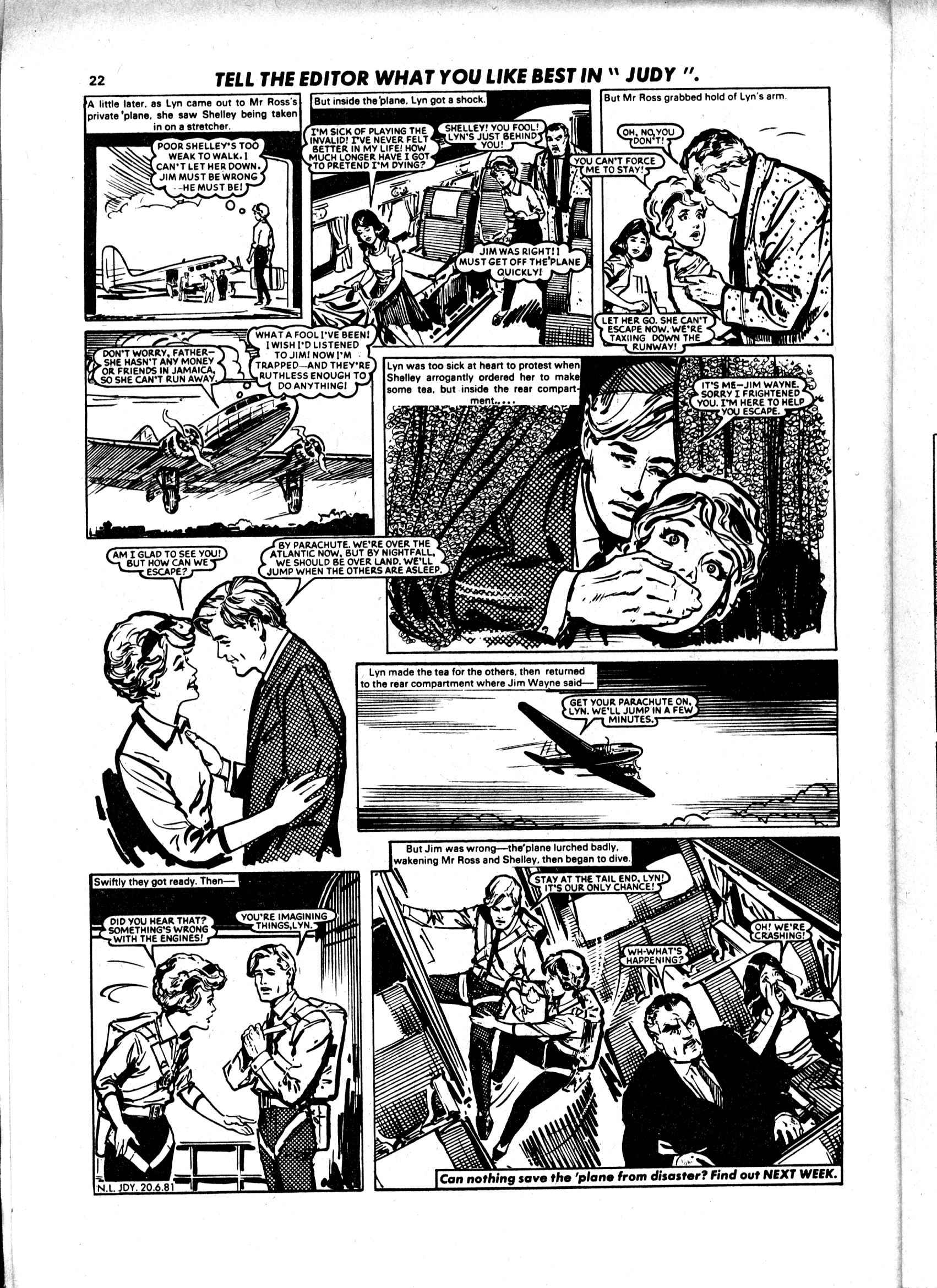Read online Judy comic -  Issue #1119 - 22