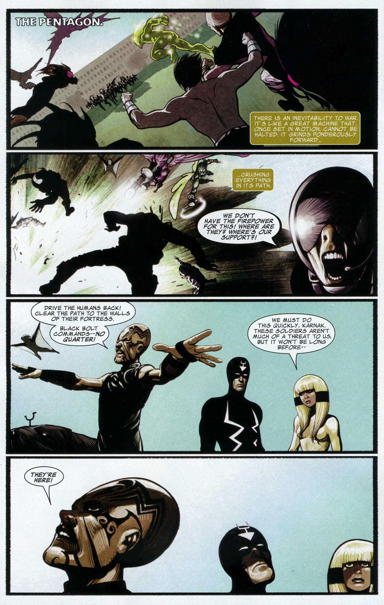 Read online Silent War comic -  Issue #5 - 3