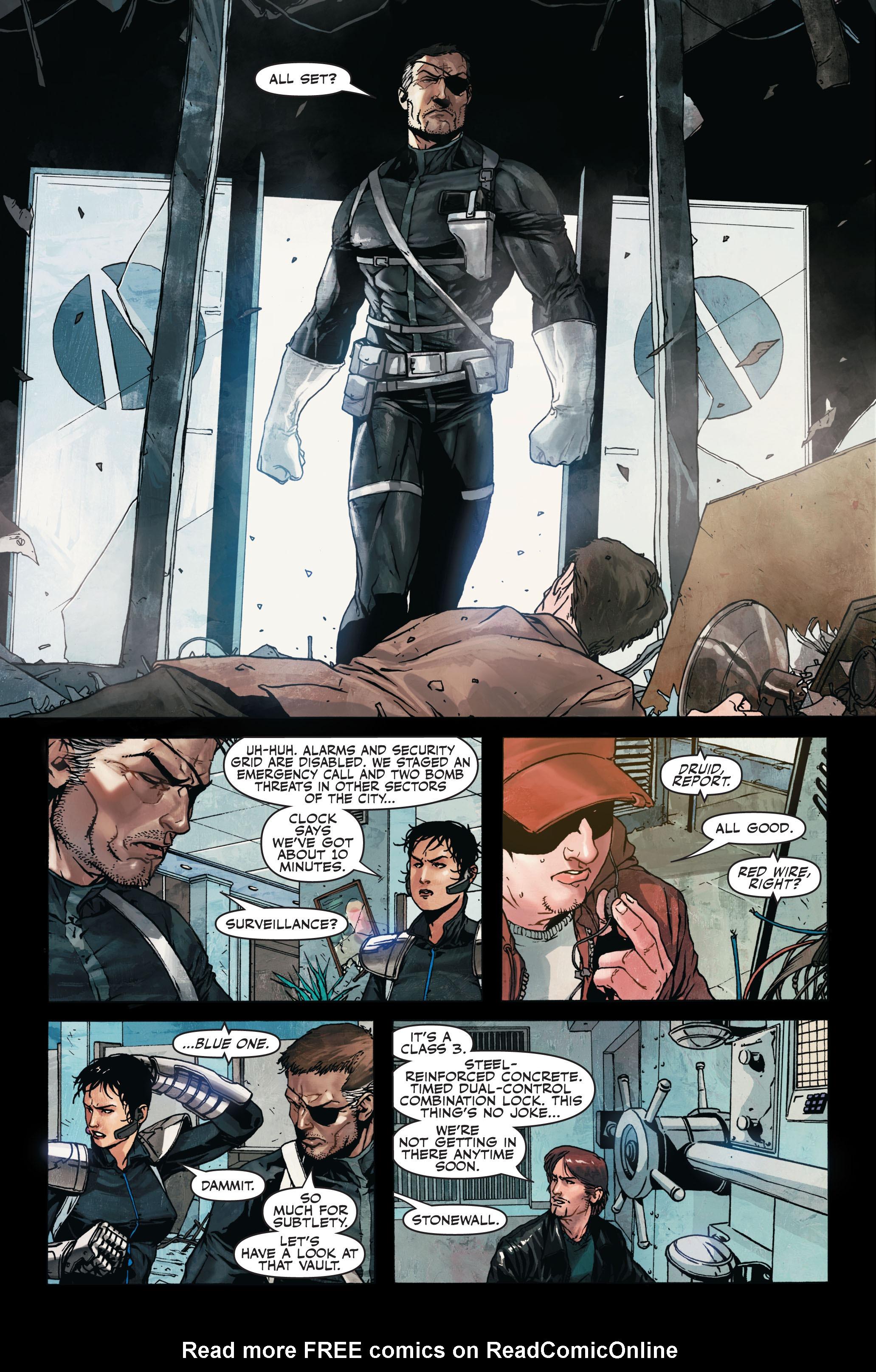Read online Secret Warriors comic -  Issue #7 - 7