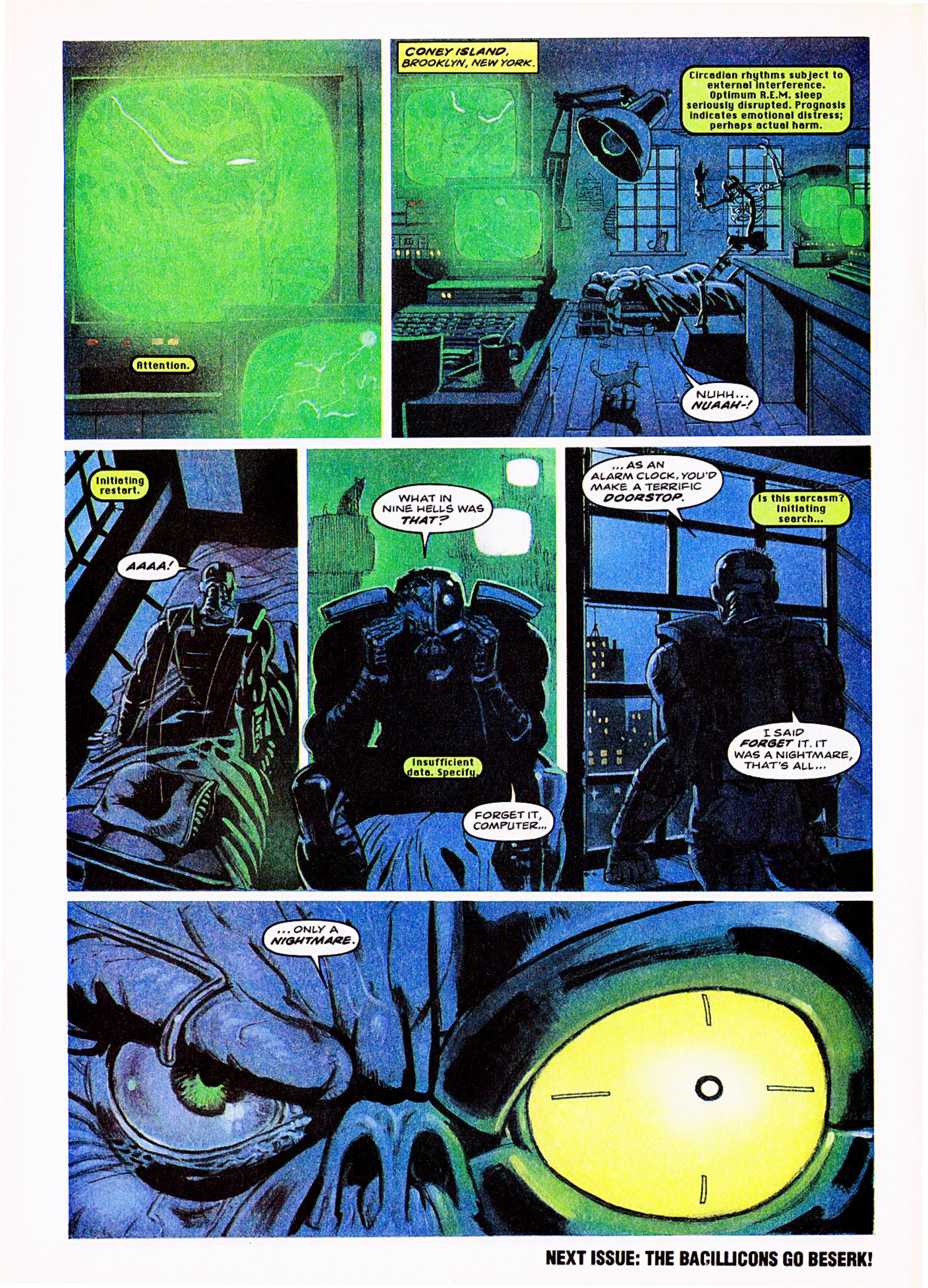 Read online Overkill comic -  Issue #5 - 16