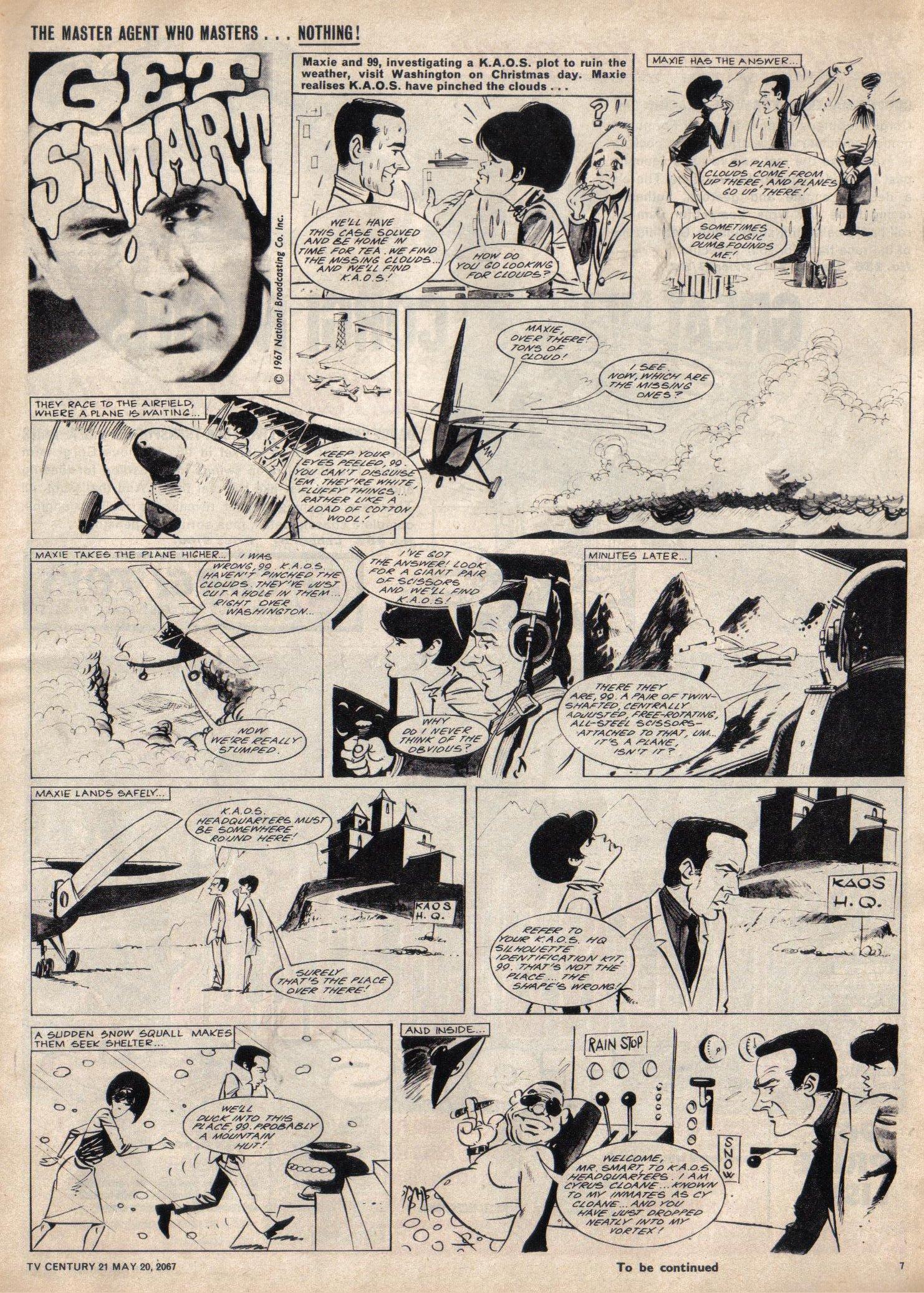 Read online TV Century 21 (TV 21) comic -  Issue #122 - 7