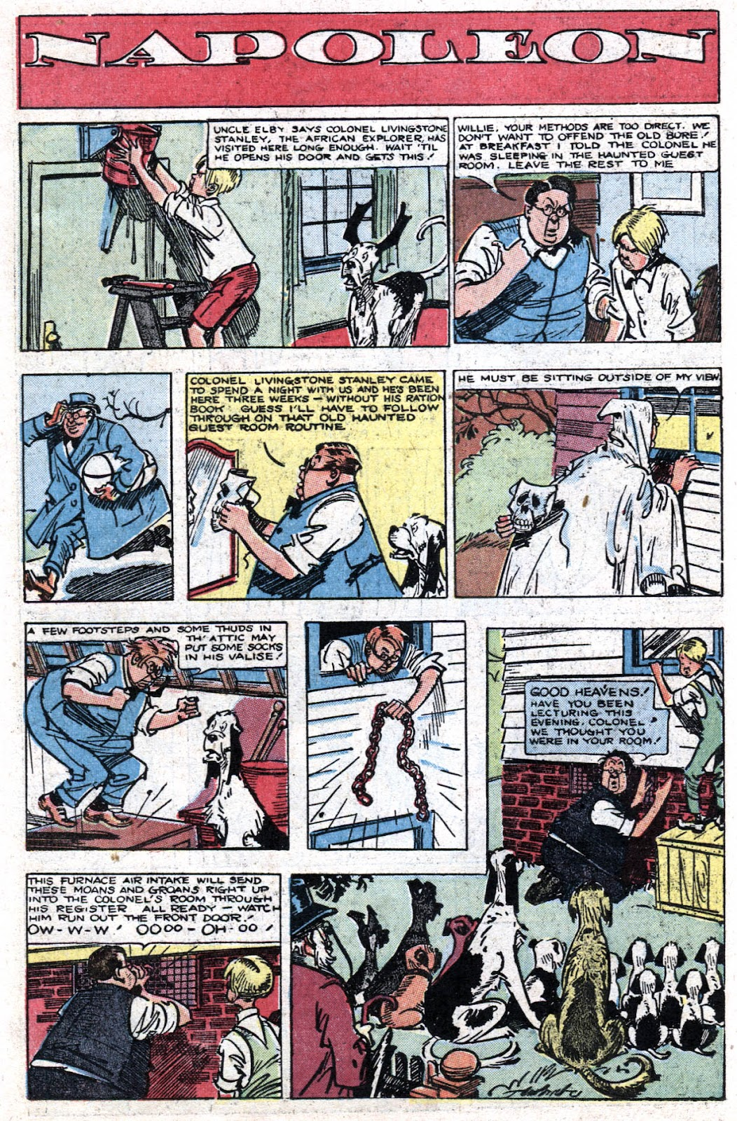Read online Famous Funnies comic -  Issue #164 - 36