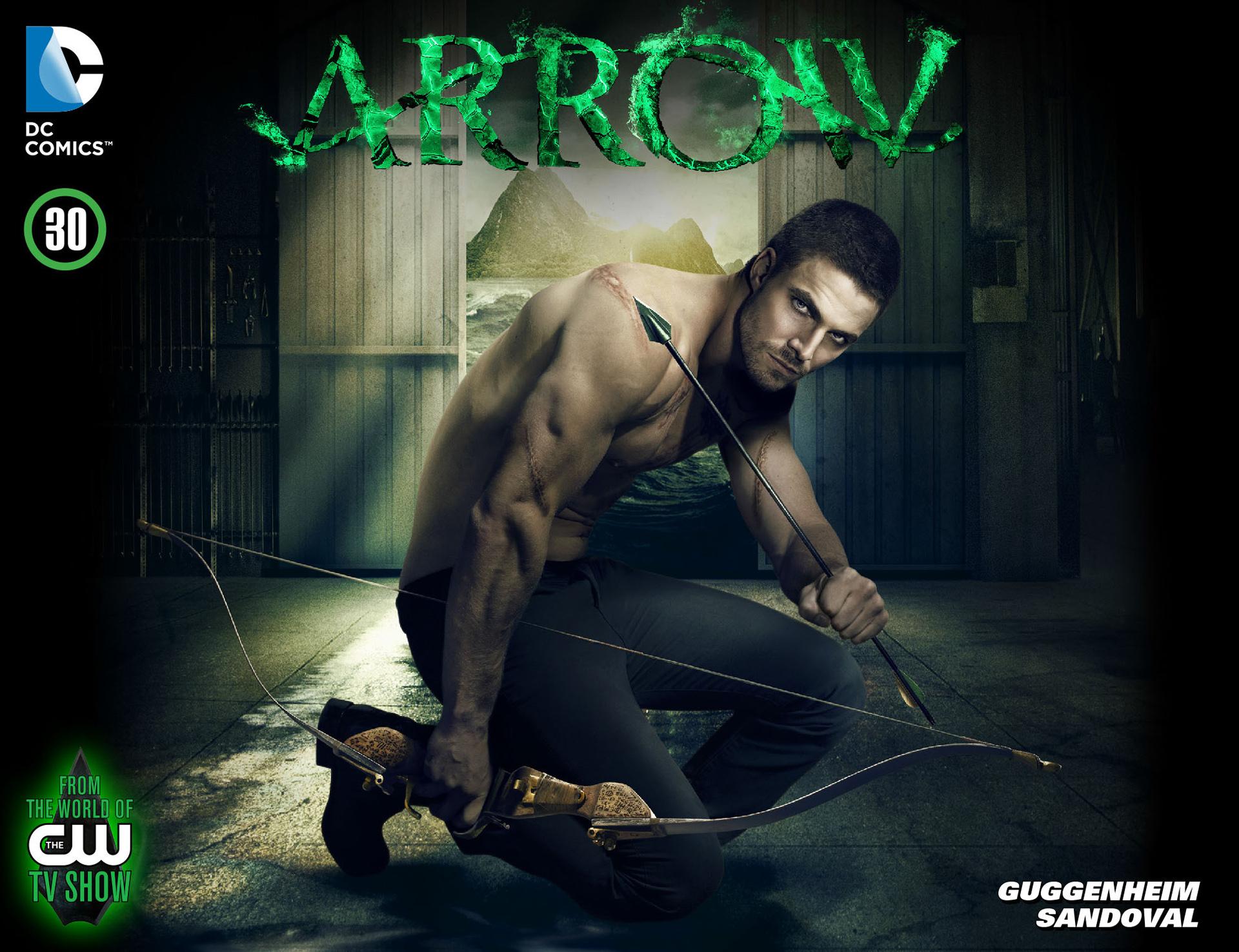 Read online Arrow [II] comic -  Issue #30 - 1