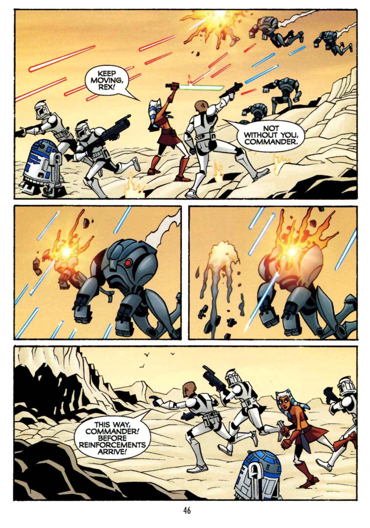 Read online Star Wars: The Clone Wars - Shipyards of Doom comic -  Issue # Full - 44