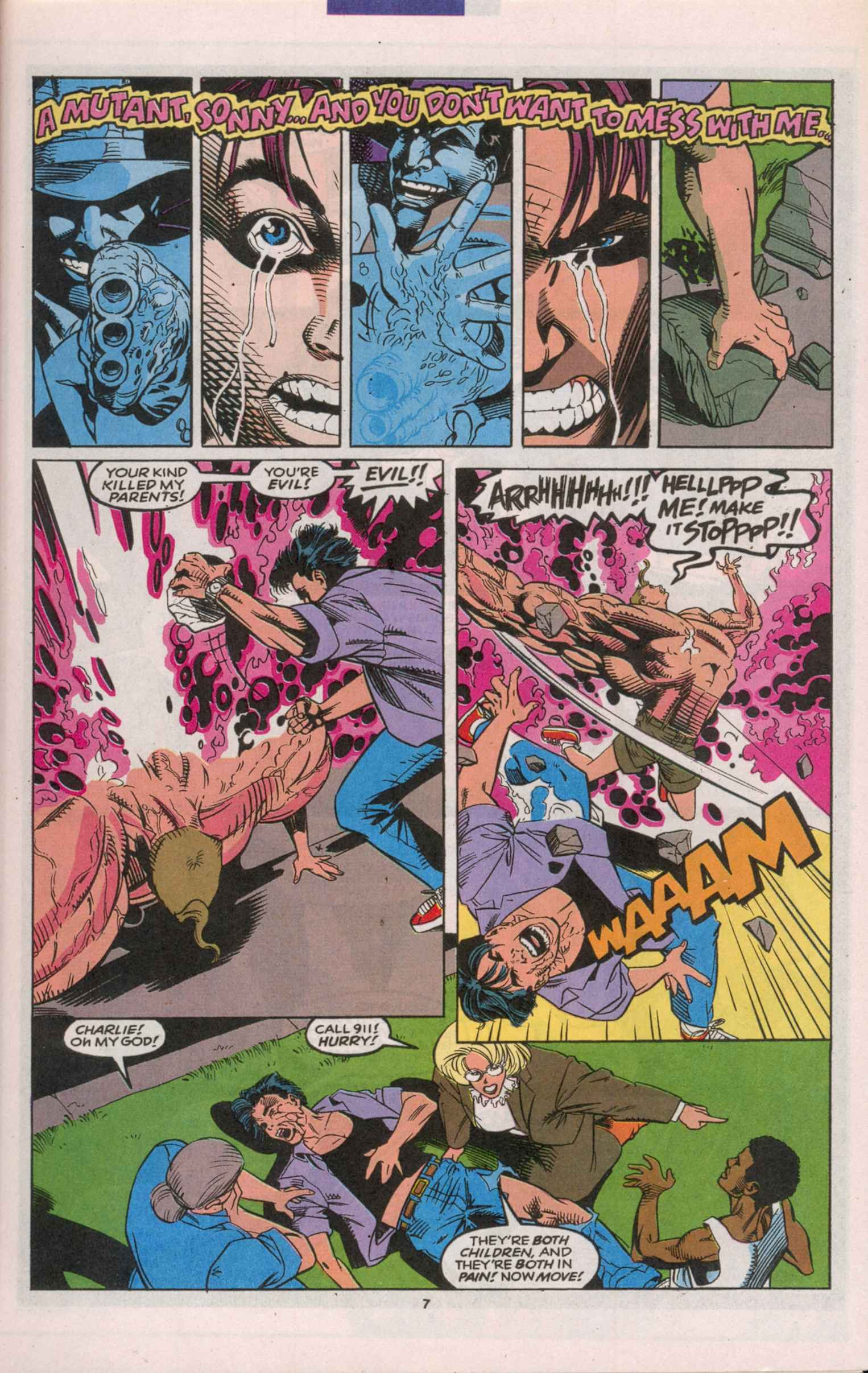 Read online X-Factor (1986) comic -  Issue # _ Annual 8 - 8