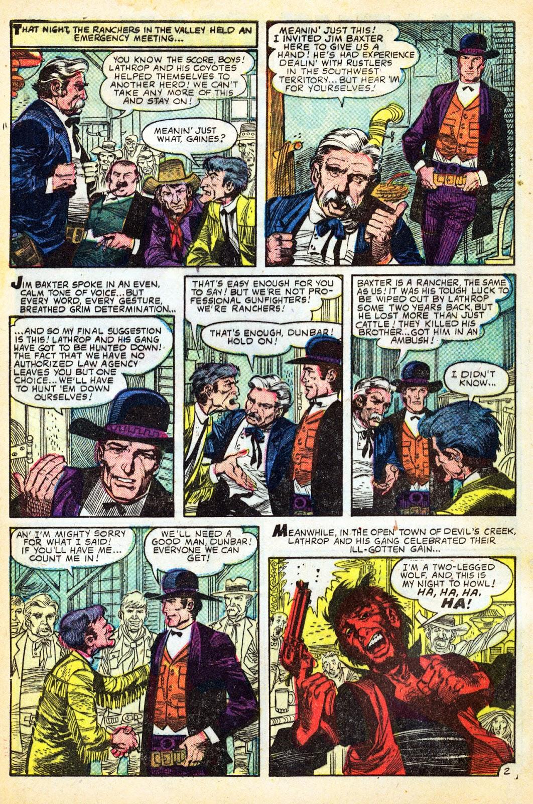 Gunsmoke Western issue 37 - Page 4