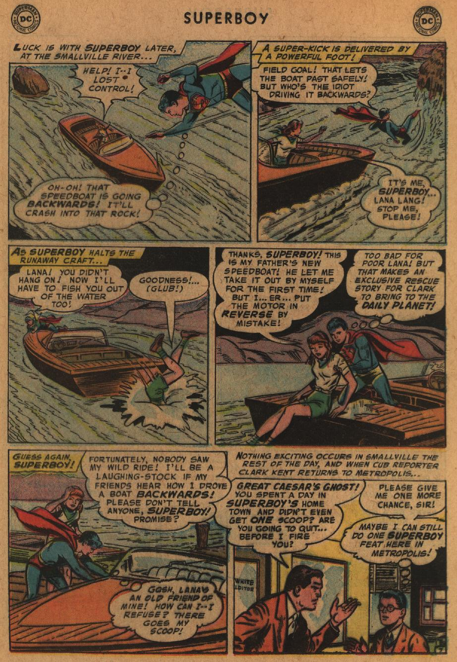 Superboy (1949) issue 63 - Page 17