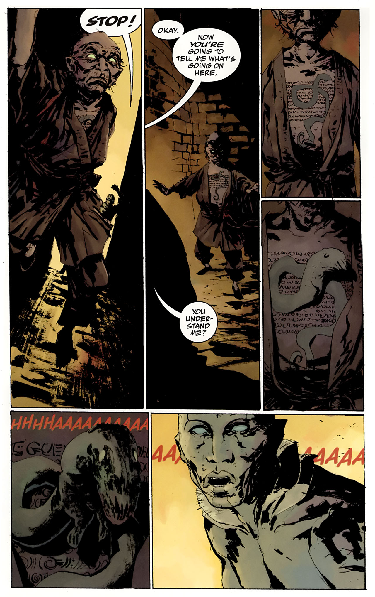 Read online Abe Sapien: The Drowning comic -  Issue #3 - 13