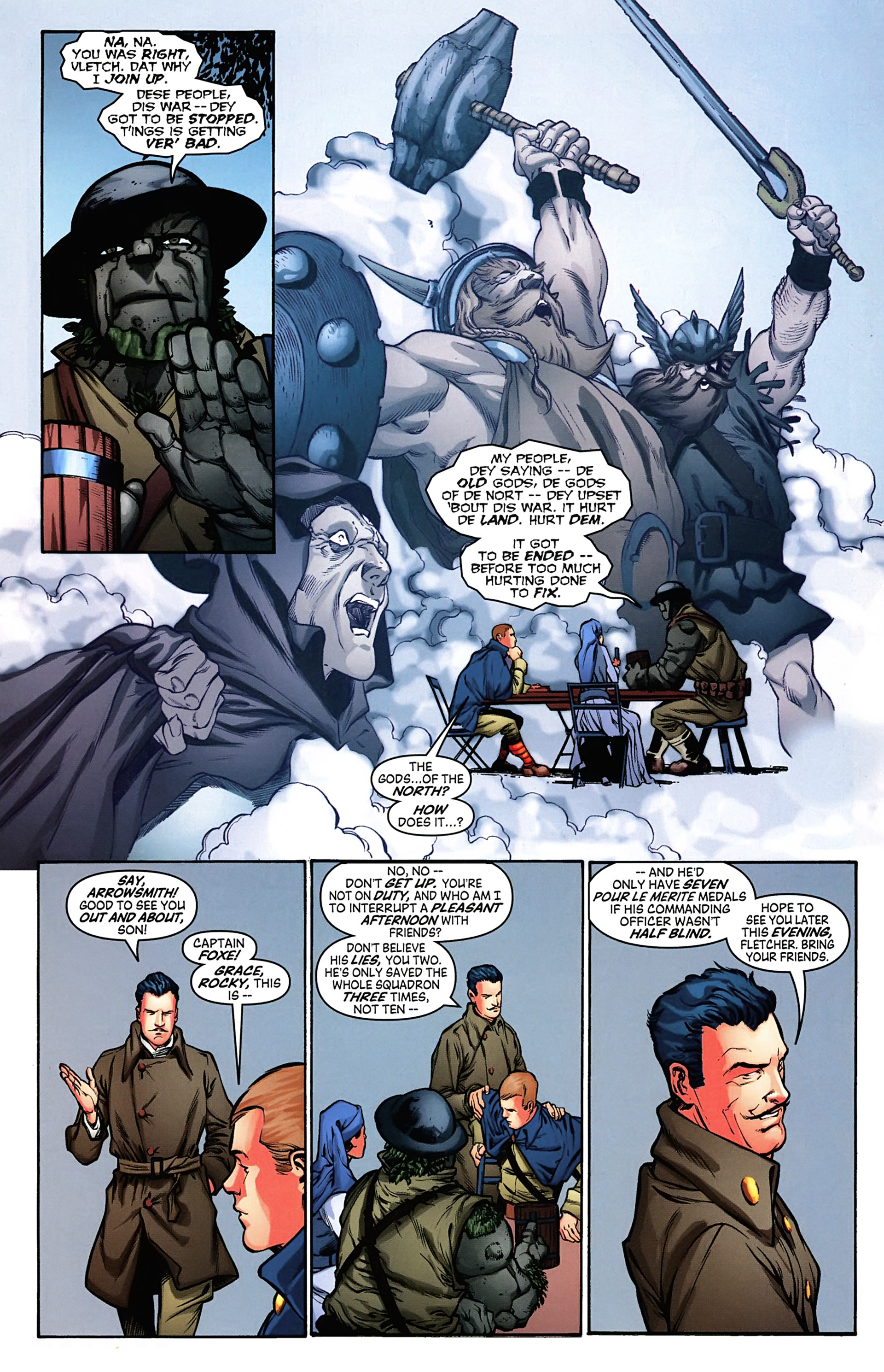 Read online Arrowsmith comic -  Issue #4 - 15