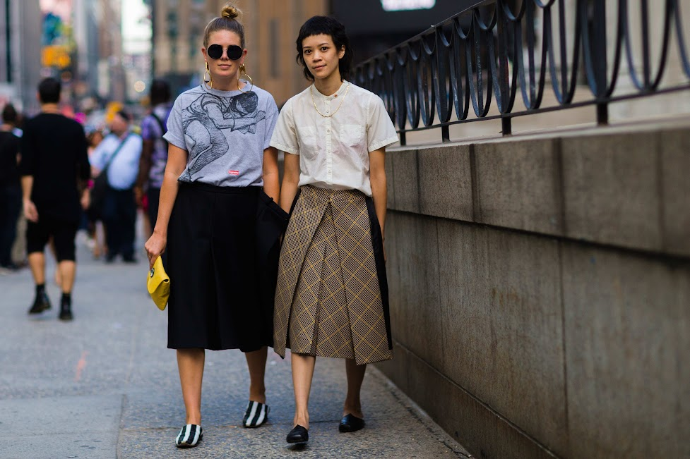 Street Style: Twinning During #NYFW