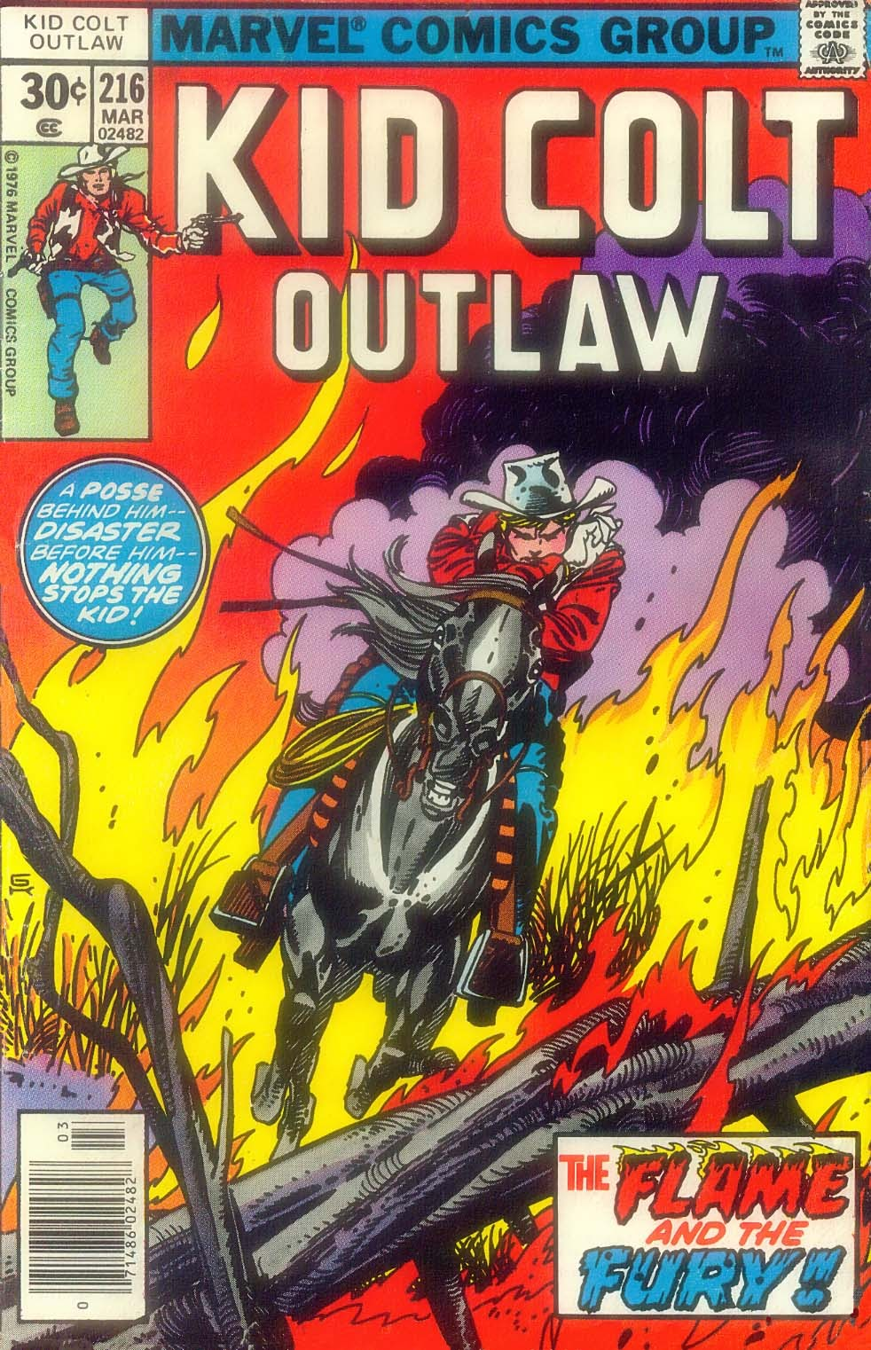 Kid Colt Outlaw issue 216 - Page 1
