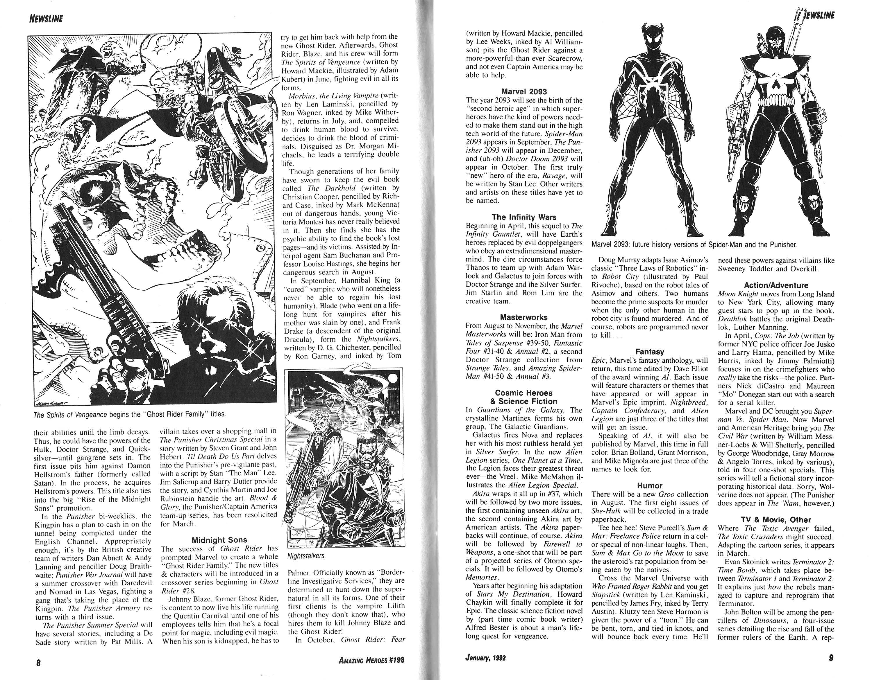 Read online Amazing Heroes comic -  Issue #198 - 5