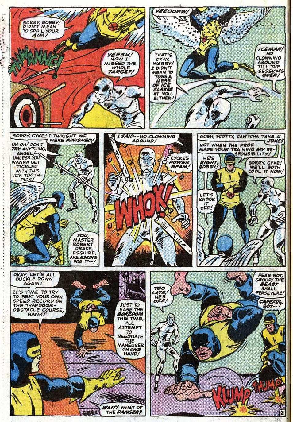 Read online Uncanny X-Men (1963) comic -  Issue #69 - 28