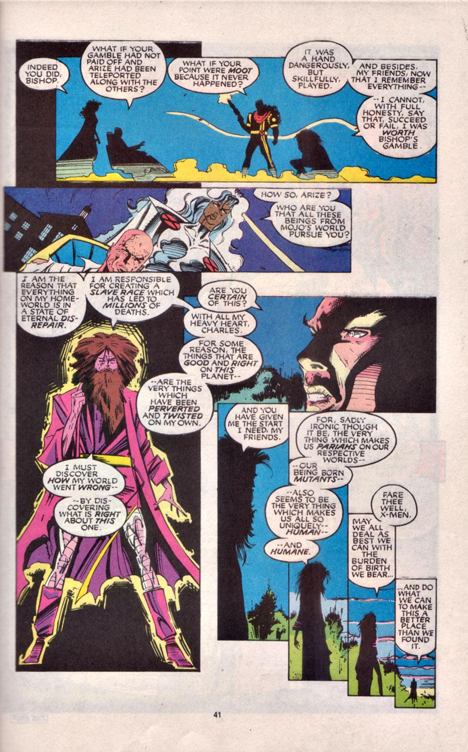 Read online Uncanny X-Men (1963) comic -  Issue # _Annual 16 - 34