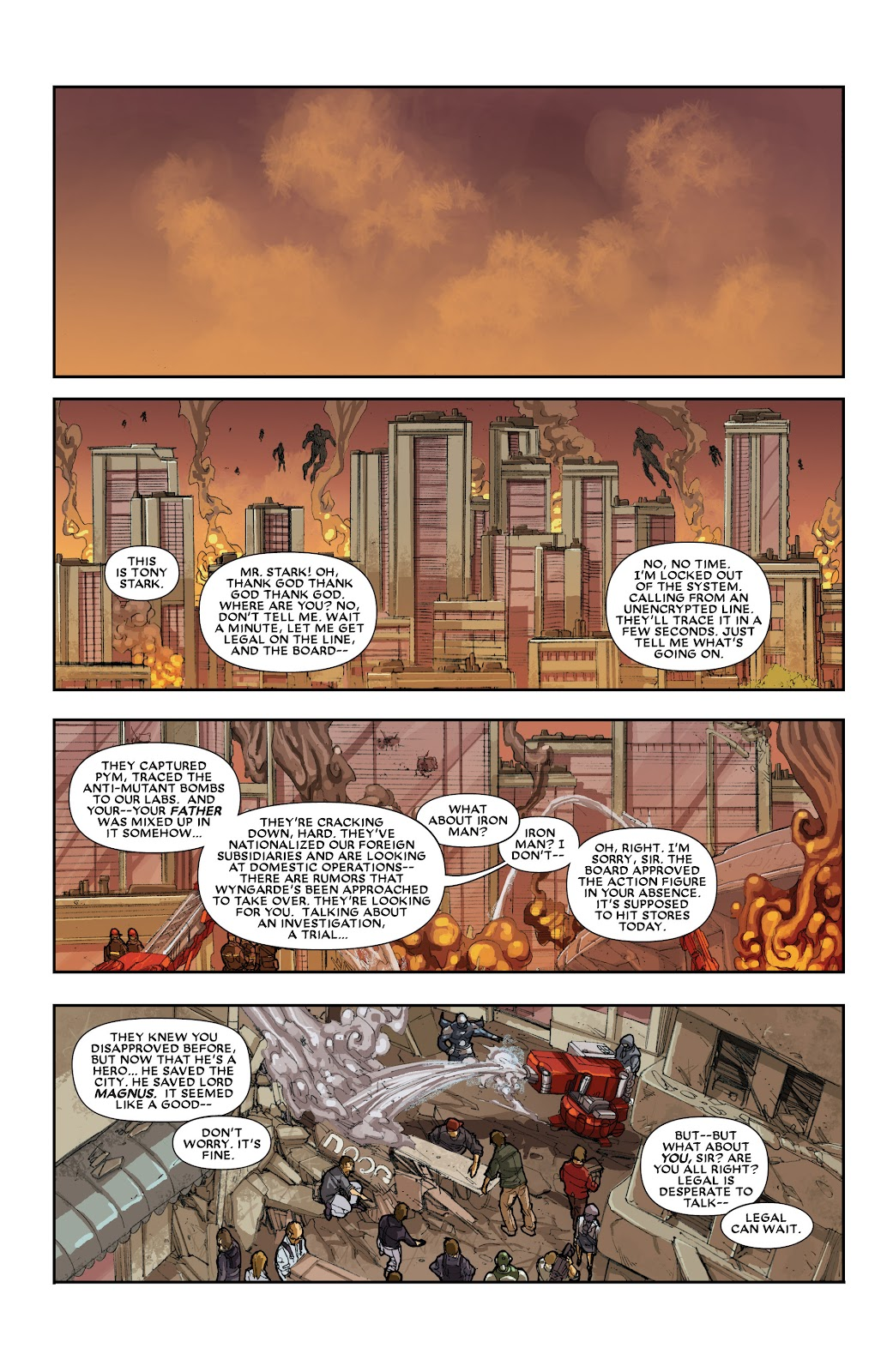 Iron Man: House of M Issue #3 #3 - English 22