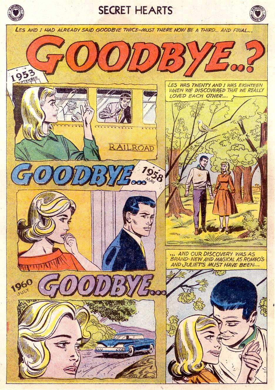 Read online Secret Hearts comic -  Issue #65 - 19