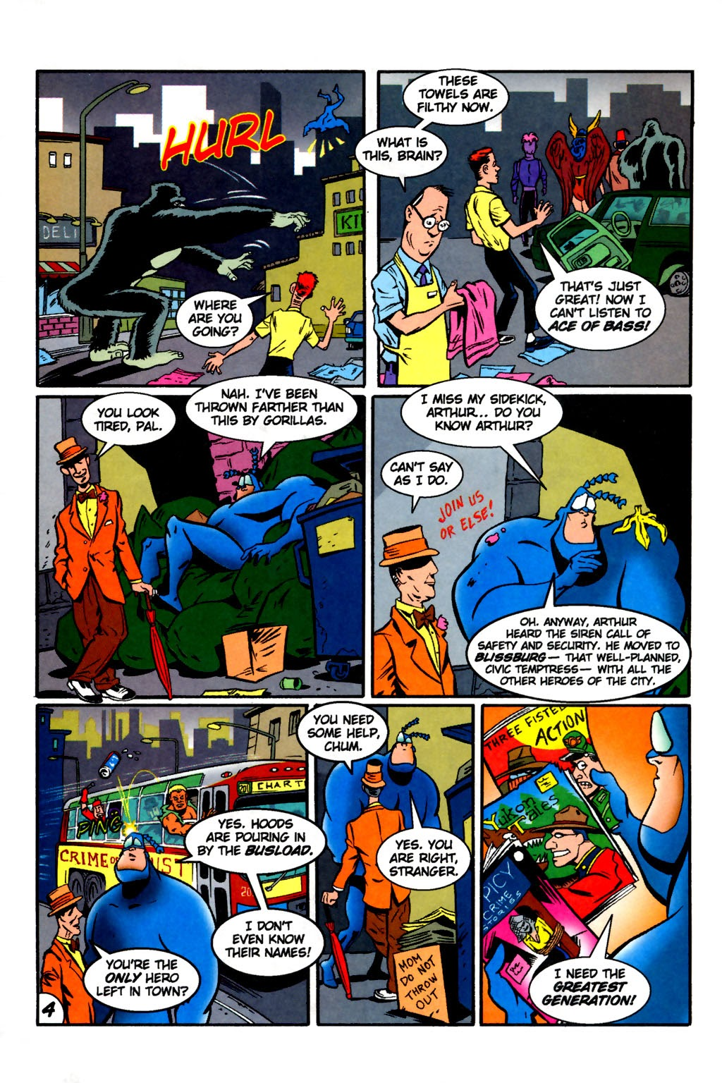 Read online The Tick: Days of Drama comic -  Issue #2 - 6