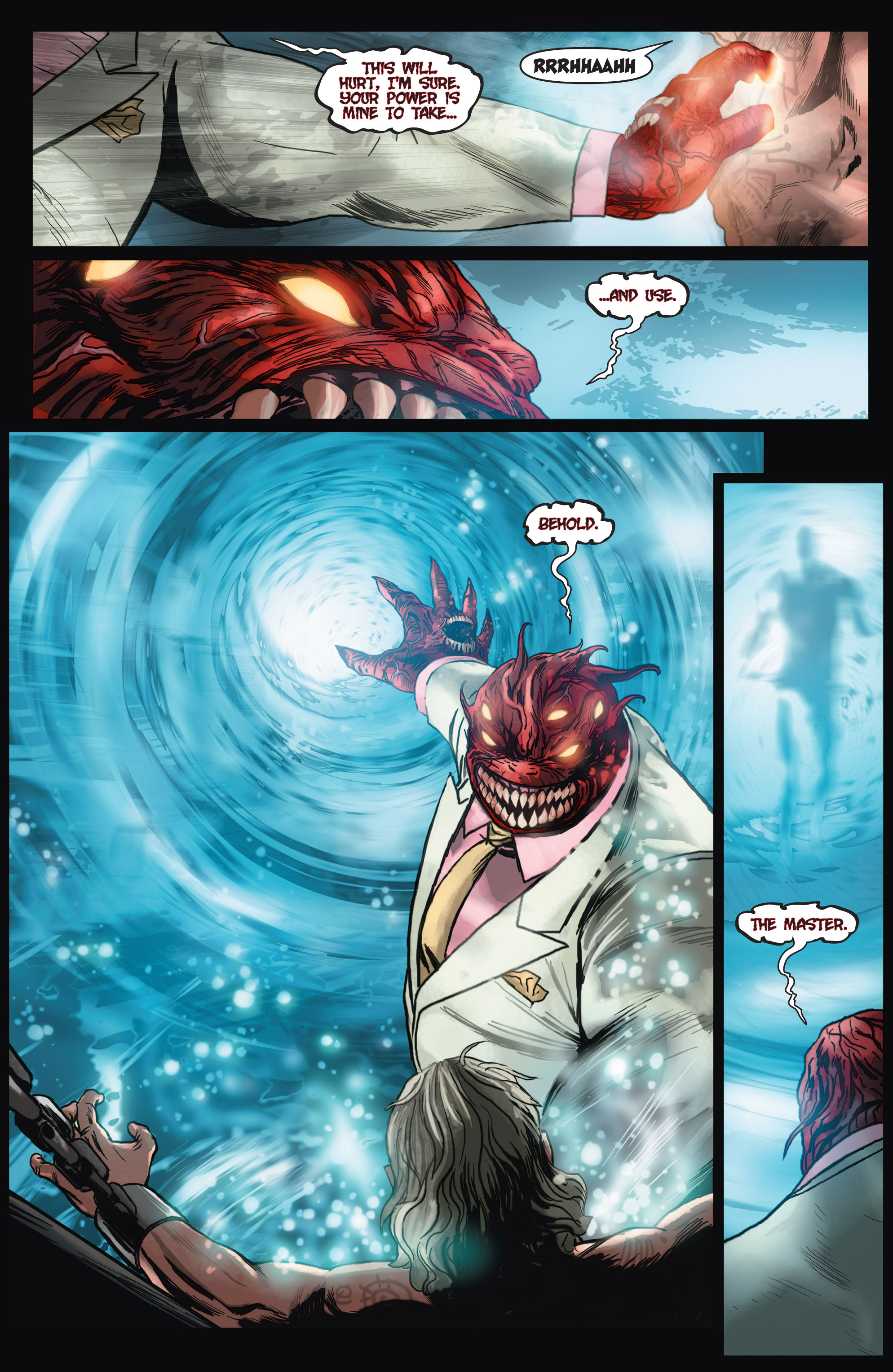 Read online Shadowman (2012) comic -  Issue #4 - 10