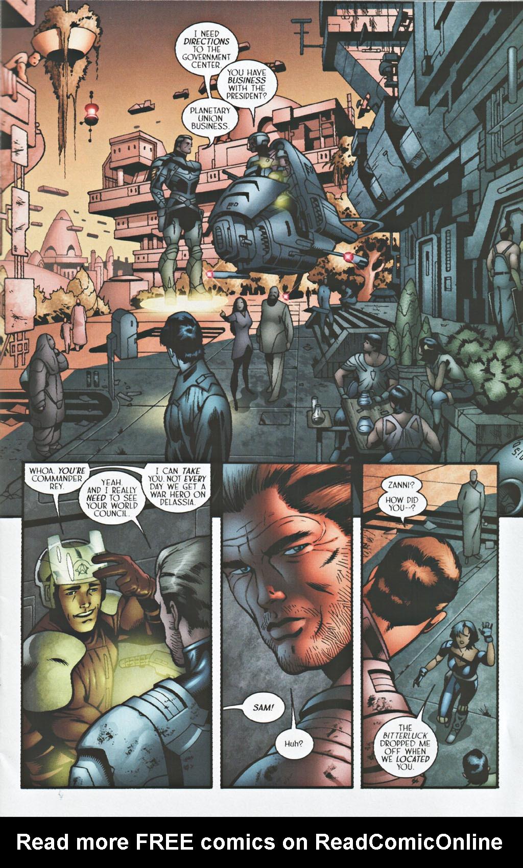 Read online Sigil (2000) comic -  Issue #41 - 6